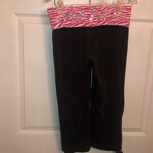 Women's size small VS Pink yoga capris!